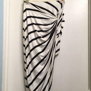 Charlotte Russe Asymmetrical Skirt